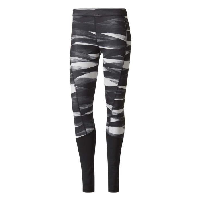 Vêtements femme Collants de course Adidas Techfit Base Print Long