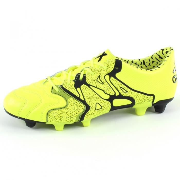 Chaussures de Football ADIDAS PERFORMANCE X15.1 FG - AG Leather