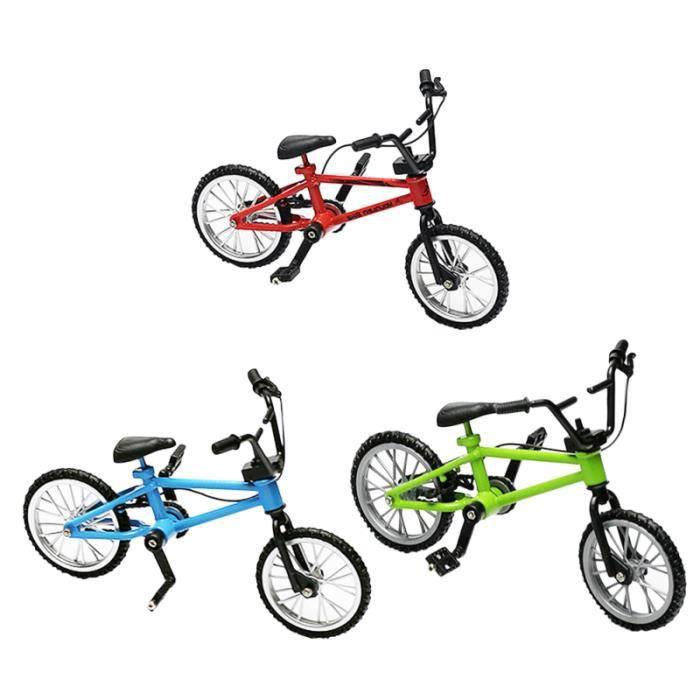8pcs Simulation Créative Modèle De Vélo Mini Bicyclette Figurine Miniatures VELO DE VILLE - BEACH CRUISER - VELO HOLLANDAIS