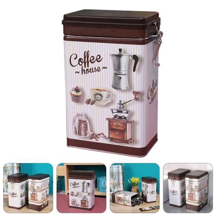 Boîte de rangement de café instantané 1Pc Récipient de stockage de soluble pratique MACHINE A CAFE