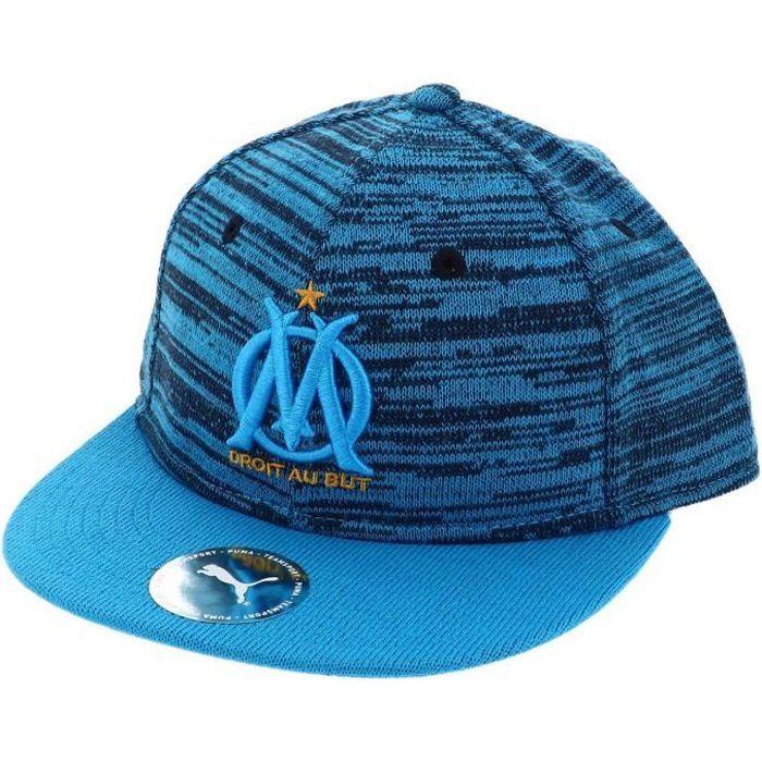 Casquette équipe football Om snap back cap navy - Puma Adult Bleu Marine / Bleu Nuit