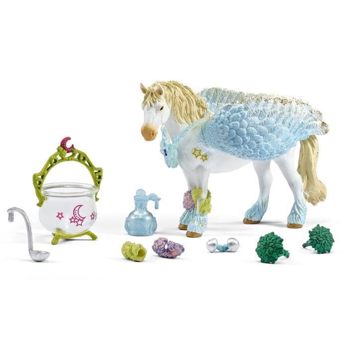 Schleich Figurine 42172 - Bayala Elf Monde des Elves - Grand kit de soins médicaux