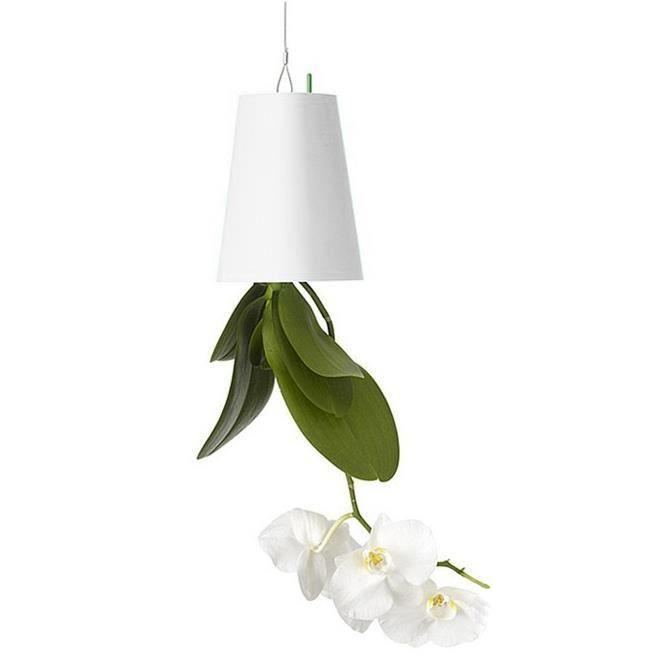 TRIXES Pot Renversé pour Plante Pot de Fleur Accrochée Tête en Bas Jardinière Aérienne