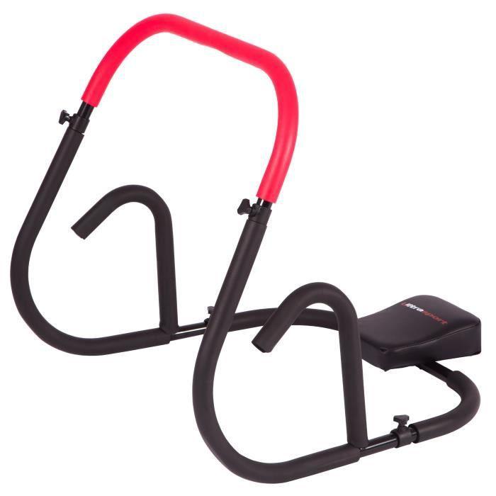 Ultrasport AB Trainer, un appareil pour abdominaux professionnel pour travailler intensivement ses abdominaux à la maison. Pliable,