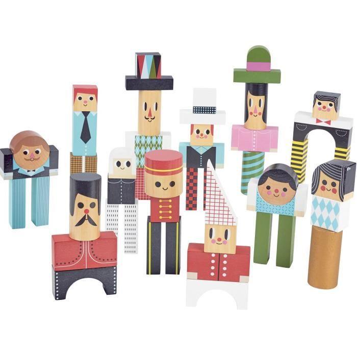 Vilac - Les bonhommes en cubes - VILAC