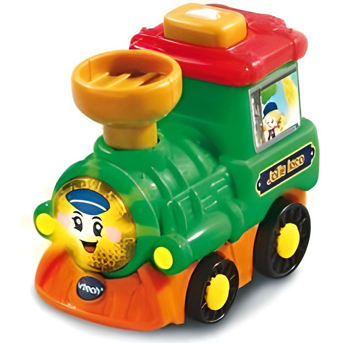 Margot jolie loco avec bouton surprise - Tut Tut Bolide Fille - Train, vehicule interactif Vtech bebe