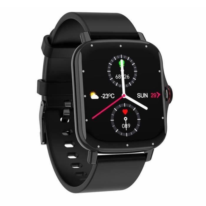 XF33574-Montre Connectée Pour iOS Android, Sport Montre étanche IP67, Montre avec Moniteur de Sommeil Pression Artérielle Pédomètr