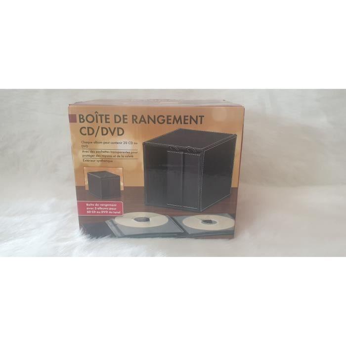 Superbe Boite De Rangement 3 Albums Cd Dvd Au Total 60 Cd Achat Vente Range Cd 2008860673172 Cdiscount