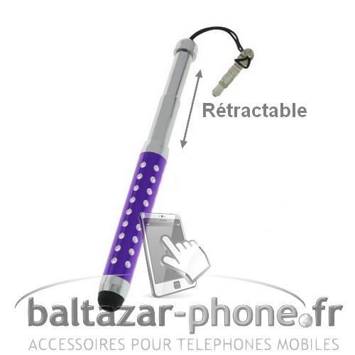 STYLET TÉLÉPHONE BALTAZAR PHONE® Stylet violet pour HTC Desire 820