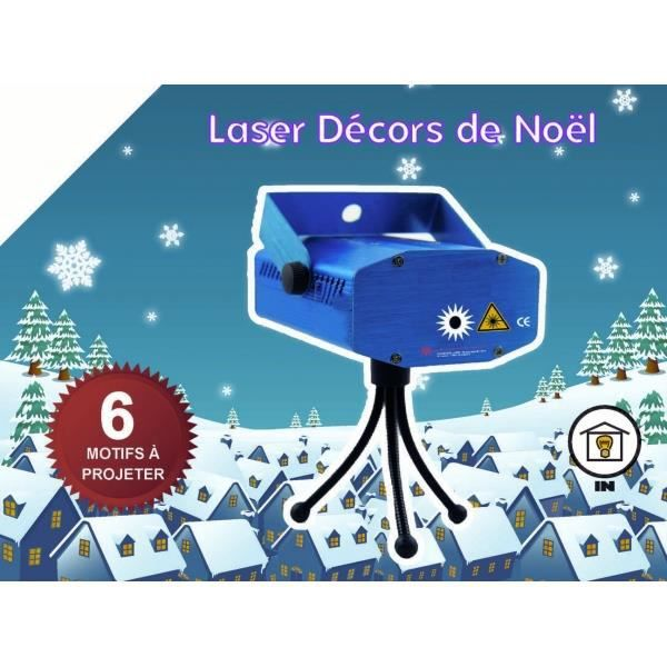 mini laser projection 6 d cors de no l rouge achat vente coffret de d coration