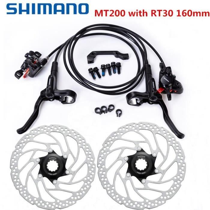 160 mm Rotors facultatif Shimano BR-BL-M365 VTT FREINS À DISQUES HYDRAULIQUES Set