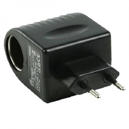 adaptateur 220v vers allume cigare 12v achat chargeur