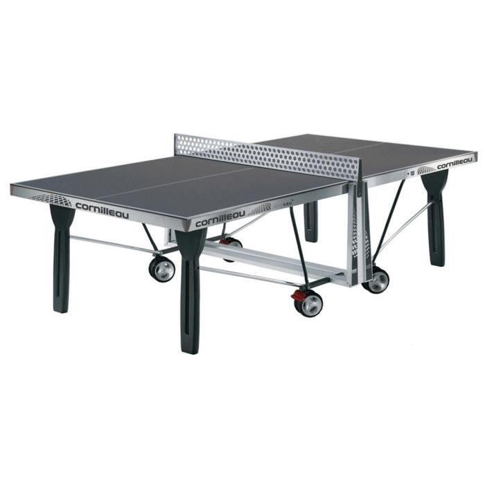 Table ping pong sport 540 outdoor gris prix pas cher - Table de ping pong pas cher decathlon ...