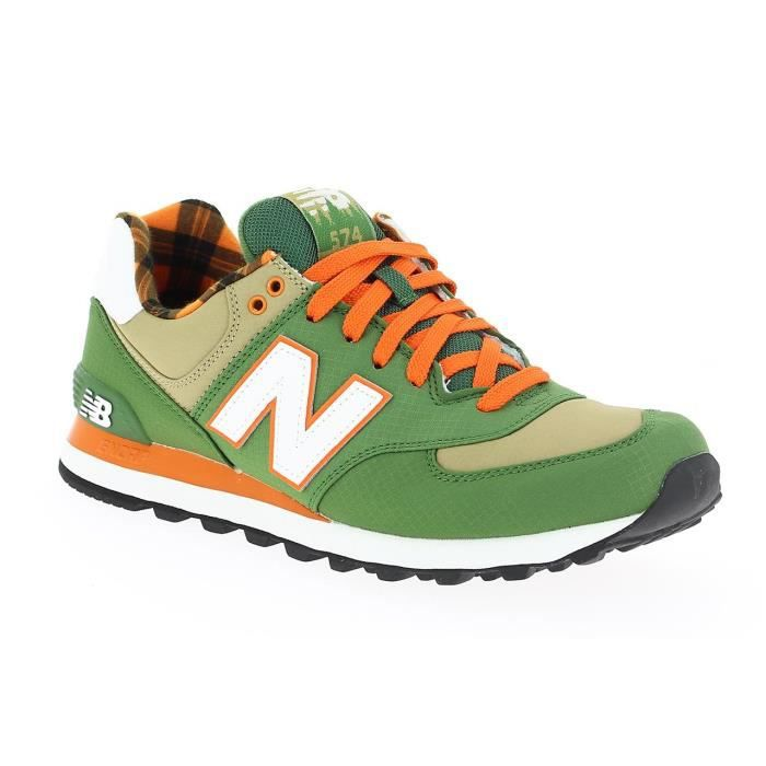 new balance beige et orange