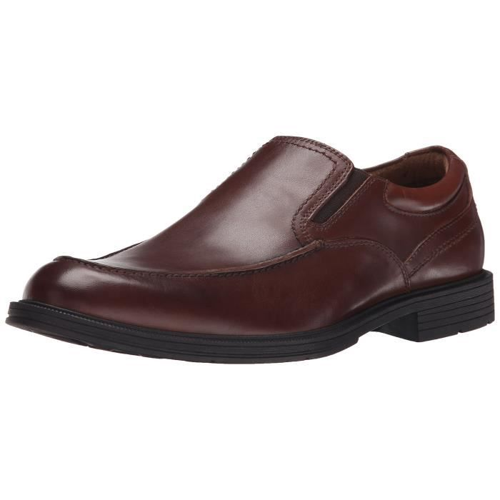 Florsheim Mogul Moc Slip Toe On Oxford DK0WW Taille-48 OQPEt
