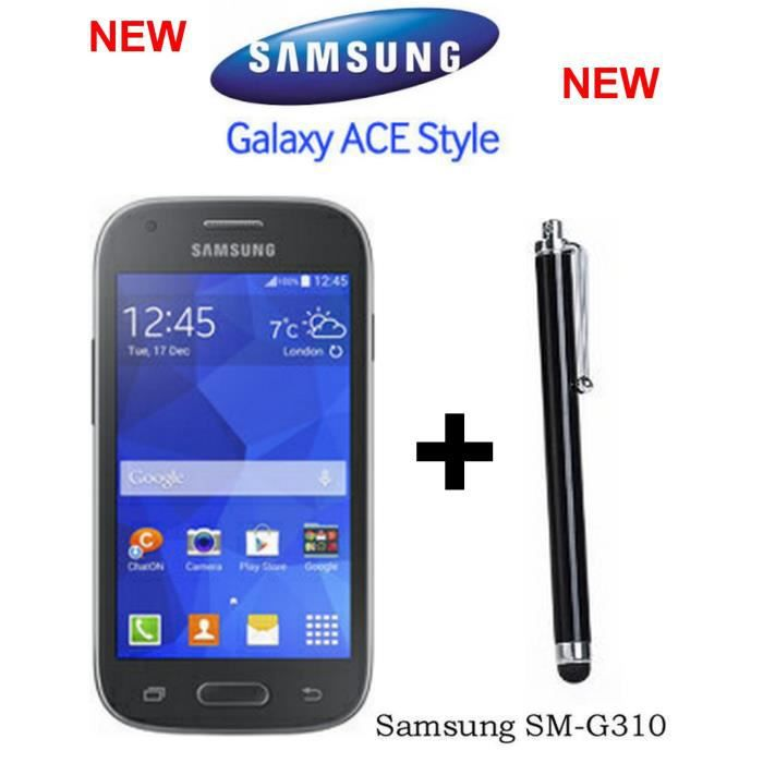 samsung galaxy ace style grey g310 stylet smartphone prix pas cher cdiscount. Black Bedroom Furniture Sets. Home Design Ideas