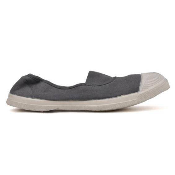Baskets Bensimon Baskets Gris Elastique Tennis Bensimon Tennis Elastique Gris Taaqw