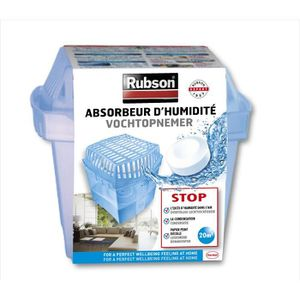 ABSORBEUR D'HUMIDITÉ RUBSON Absorbeur Basic 20m²