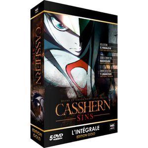 DVD MANGA CASSHENR SINS INTEGRALE GOLD