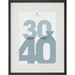 CADRE PHOTO Cadre Photo en plastique et aluminium - 30 x 40 cm