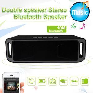 ENCEINTE NOMADE Mini haut-parleur portable récent stéréo Bluetooth