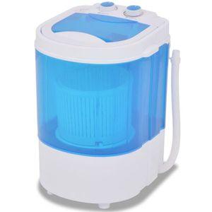 LAVE-LINGE FIHERO Mini machine à laver à cuve unique 2,6 kg