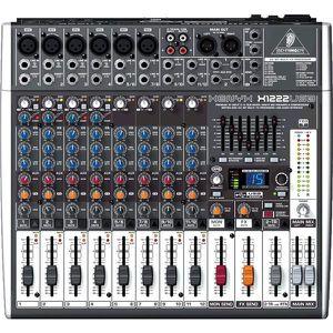 TABLE DE MIXAGE Behringer Table de Mixage et Interface X1222USB