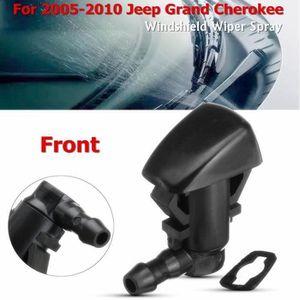 DYBANP Buse dessuie-Glace pour Jeep Grand Cherokee 2005-2010,2Pcs Buse de Lave-Glace dessuie-Glace Avant