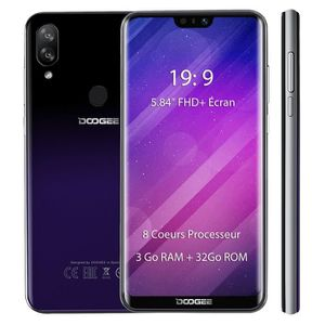 SMARTPHONE Smartphone 4G DOOGEE N10 3Go RAM + 32Go ROM 5.84