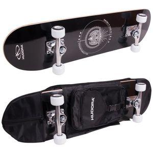 SKATEBOARD - LONGBOARD Hudora - Skateboard Columbia avec sac de transport