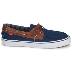 La sneaker style bateau de vans ... Bleu Marine - Achat ...