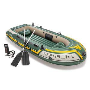 BATEAU PNEUMATIQUE Intex Ensemble de canots pneumatiques Seahawk 295x