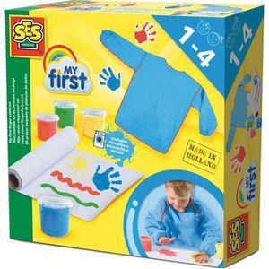 Kit papier créatif SES CREATIVE MY FIRST Mon premier kit de peinture