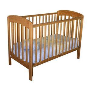 LIT BÉBÉ Lit bébé à barrière coulissante Andy  Bois 60x120c