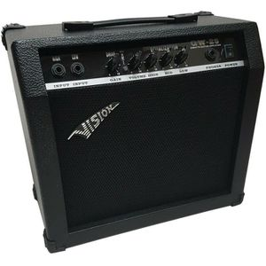 AMPLIFICATEUR Ampli Guitare Vision Gw-25 30w Avec Distortion