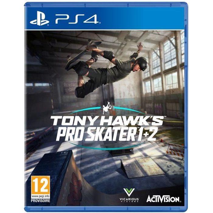 JEU PS4 NOUVEAUTÉ Tony Hawk's Pro Skater 1 + 2 Jeu PS4