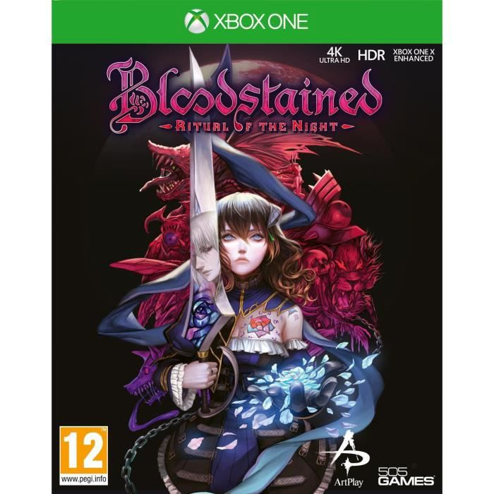Bloodstained Ritual of the night Jeu Xbox One