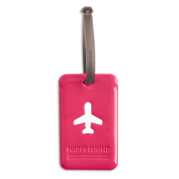 Porte-Etiquette pour Bagage Happy Flight. Alife Design.