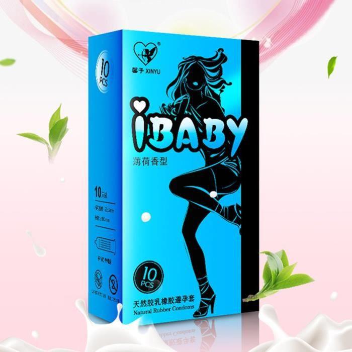 10PCS Pleasure Me - Condom pour hommes ultra-mince et très soluble dans l'eau Noarlall4741