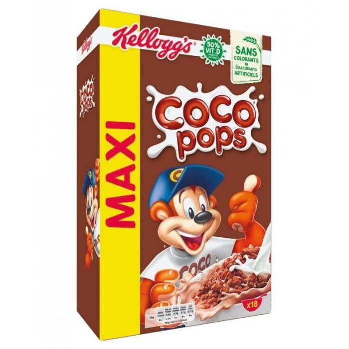 Kellogg's Coco Pops Maxi Format 620g (lot de 3 paquets)