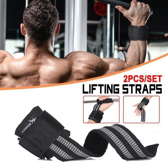 Sangles De Levage Musculation Halérophilie Beast Gear Pour Poignets Résistants