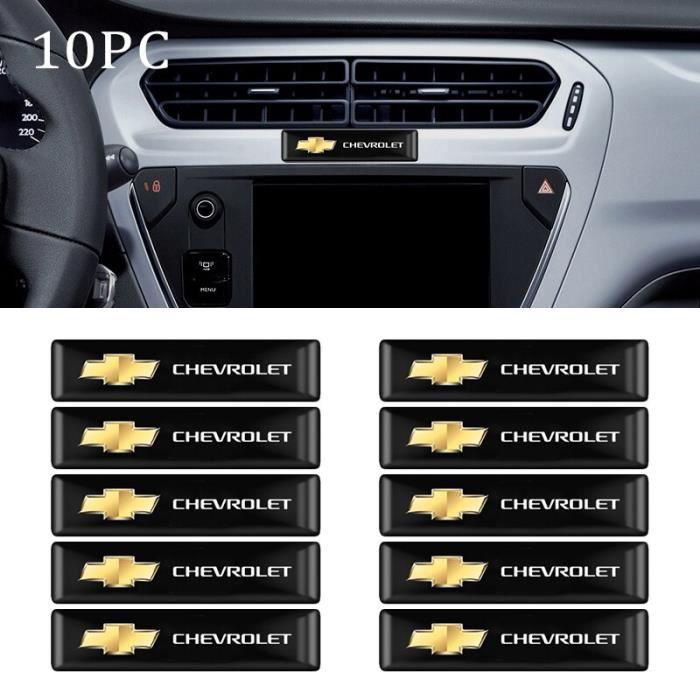 4 pièces insigne de voiture emblème roue pneu Valve bouchons couvercle de soupape pour Mercedes Benzs CL 10pcs-Chevrolet -WILM3360