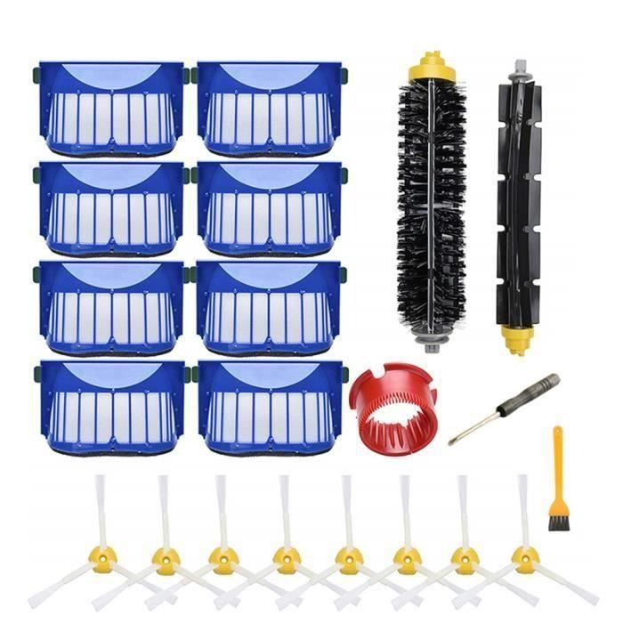 Replacement Kit D'accessoires Pour Irobot Roomba SÉRie 600 690 680 660 650 (Pas Pour 645 655) Et SÉRie 500 595 585 564, Filtre,