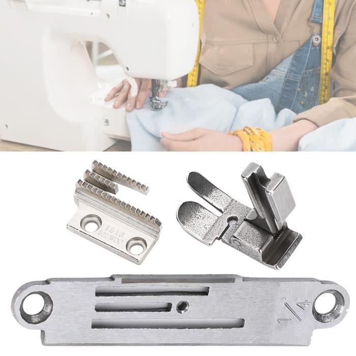 Ensemble de plaque à aiguille pour Machine à coudre pied-de-biche pour Juki / Zoje / accessoires typiques 1/4 0.6 CM
