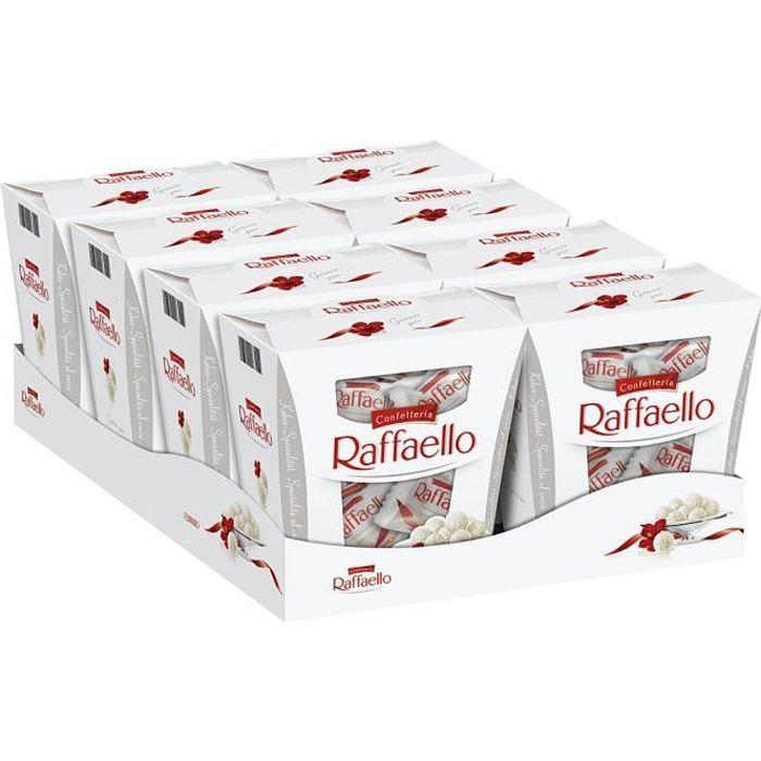 Ferrero Raffaello Pralines 230g (Pack de 8)