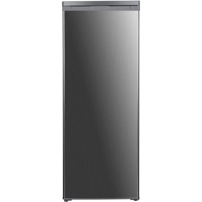 FRIGELUX RA237XE - Réfrigérateur Armoire - 237L - Froid statique - Classe E - L 56,3cm x H 144,4cm - Inox