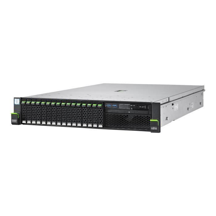 FUJITSU Serveur Primergy RX2540 M4 - Montable sur rack - 2U - 2 voies - 2.1 GHz - RAM - 16 Go - SAS