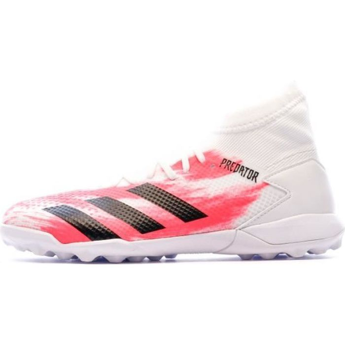 Predator 20.3 TF Chaussures de foot blanc/rose Adidas