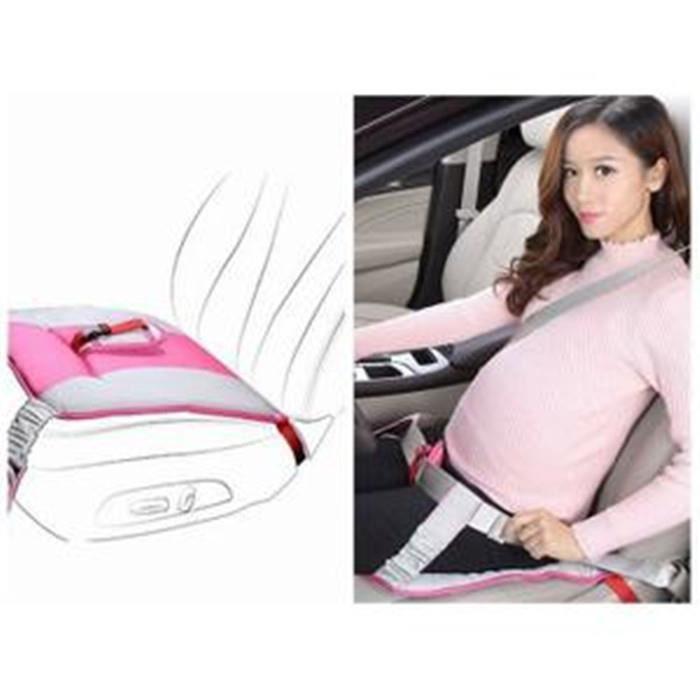 REMYCOO® Ceinture de sécurité pour femmes enceintes Protégez le bébé et la maman en cas de choc confort et sécurité