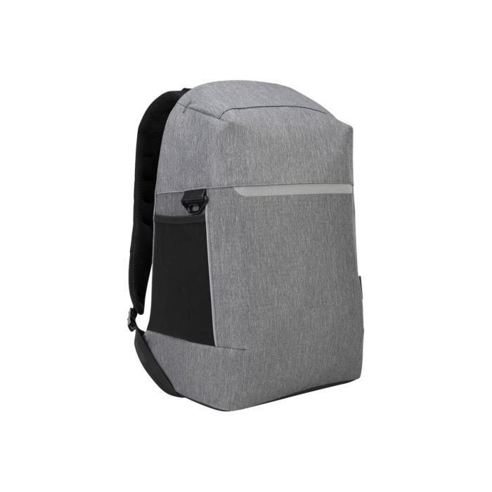 """Targus Citylite Security Sac à dos pour ordinateur portable 12.5"""" 15.6"""" Gris"""